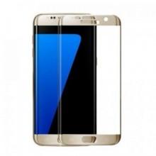Pachet 3 folii de sticla Samsung Galaxy S7 Edge,Elegance Luxury, Auriu