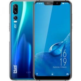 "Telefon mobil iHunt Alien X ApeX, TripleCamera 12MP, Octa-Core Helio P60, 6.18"" Full HD+, 4000mAh, 4GB RAM, 64GB ROM, Android 8.1, 4G, DualSim, RO ALERT, Blue"