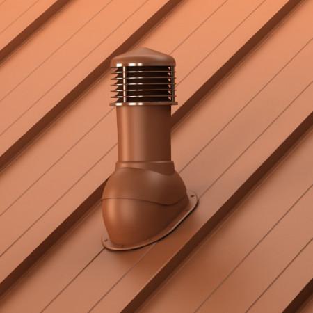 Cos ventilare tabla faltuita, click retro panel Ø 125 mm