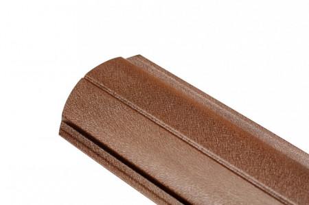 Sipca metalica pentru gard - finisaj MAT, 0,45 mm
