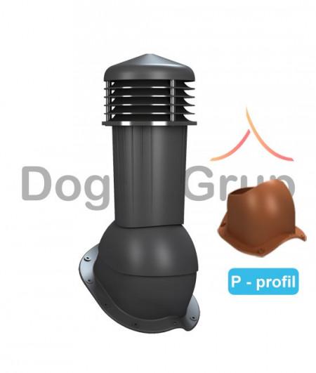 Cos ventilare tigla metalica