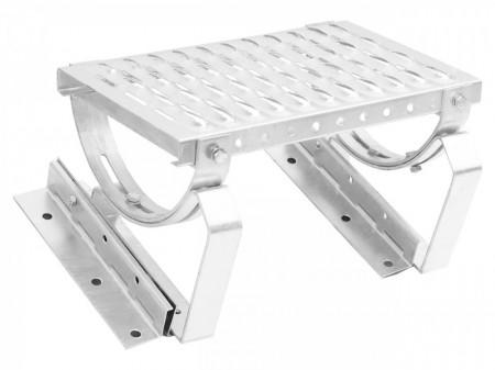Treapta ZINCATA acces acoperis cu tabla faltuita / click, 40 cm