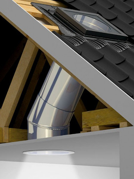 Tunel solar - pentru acoperisuri inclinate