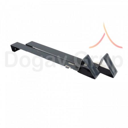Taietor de zapada 35 cm, negru 9005