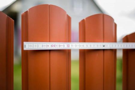 Sipca metalica pentru gard - finisaj Lucios, 0,45 mm