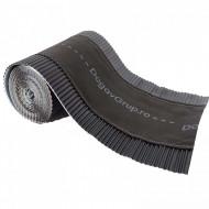 Bandă ventilare coamă Geo Vent 30 cm x 5 m RAL 9005 negru