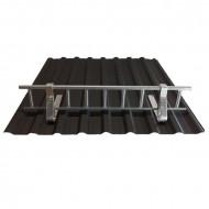 Set Parazapada grilaj 3m cu 4 suporti, ZINCAT tabla cutata 18 mm