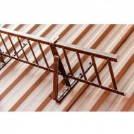 Set Parazapada grilaj 2ml cu 2 suporti pentru tabla cutata sandwich panel
