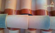 Banda ventilare coama GEO VENT - pentru olane ceramice