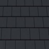 Tigla ceramica Creaton Domino, negru mat angoba NUANCE