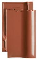 Tigla ceramica Creaton Futura, rosu cupru angoba