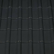 Tigla ceramica Creaton Magnum, negru mat angoba NUANCE
