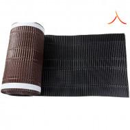 Bandă ventilare coamă Micro Vent 30 cm x 5 m RAL 9005 negru