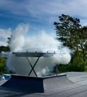 Fereastra pentru evacuarea fumului -  pentru acoperis terasa, CSP 1073
