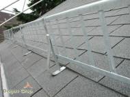 Set Parazapada grilaj 3 ML cu 3 suporti, Zincat pentru sindrila bituminoasa