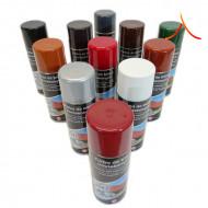 Spray retuș țiglă metalică Maro inchis RAL 8019 Lucios