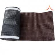 Bandă ventilare coamă Micro Vent 30 cm x 5 m RAL 8017 maro