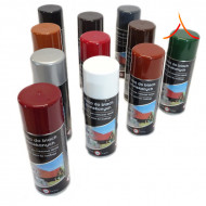Spray retuș țiglă metalică Maro inchis RAL 8019 MAT