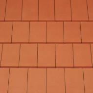 Tigla ceramica Creaton Domino, rosu natur