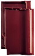 Tigla ceramica Creaton Futura, rosu vin smaltuit Finesse