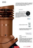 Cos aerisire ventilare EVO - automatizare electrica