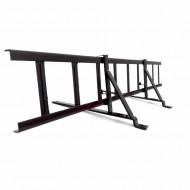 Set Parazapada grilaj 2m cu 2 suporti pentru tigla metalica