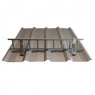Set Parazapada grilaj 3m cu 3 suporti, ZINCAT tabla cutata 35 mm