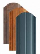 Sipca metalica pentru gard - finisaj MAT, 0,5 mm