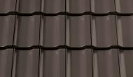 Tigla ceramica Optima maro inchis angoba