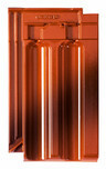 Tigla ceramica Ratio rosu cu efect de ardere smaltuit Noblesse
