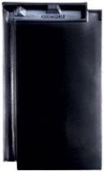 Tigla ceramica Creaton Domino, negru smaltuit FINESSE