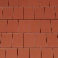 Tigla ceramica Creaton Domino, rosu cupru angoba NUANCE