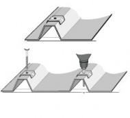 Calota aluminiu cu EPDM 41 mm ALU-NATUR cutie 100 bc
