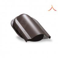 Element ventilare tabla falt, click, retro panel RAL 8019 maro inchis