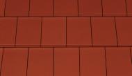 Tigla ceramica Creaton Domino, rosu vin angoba NUANCE