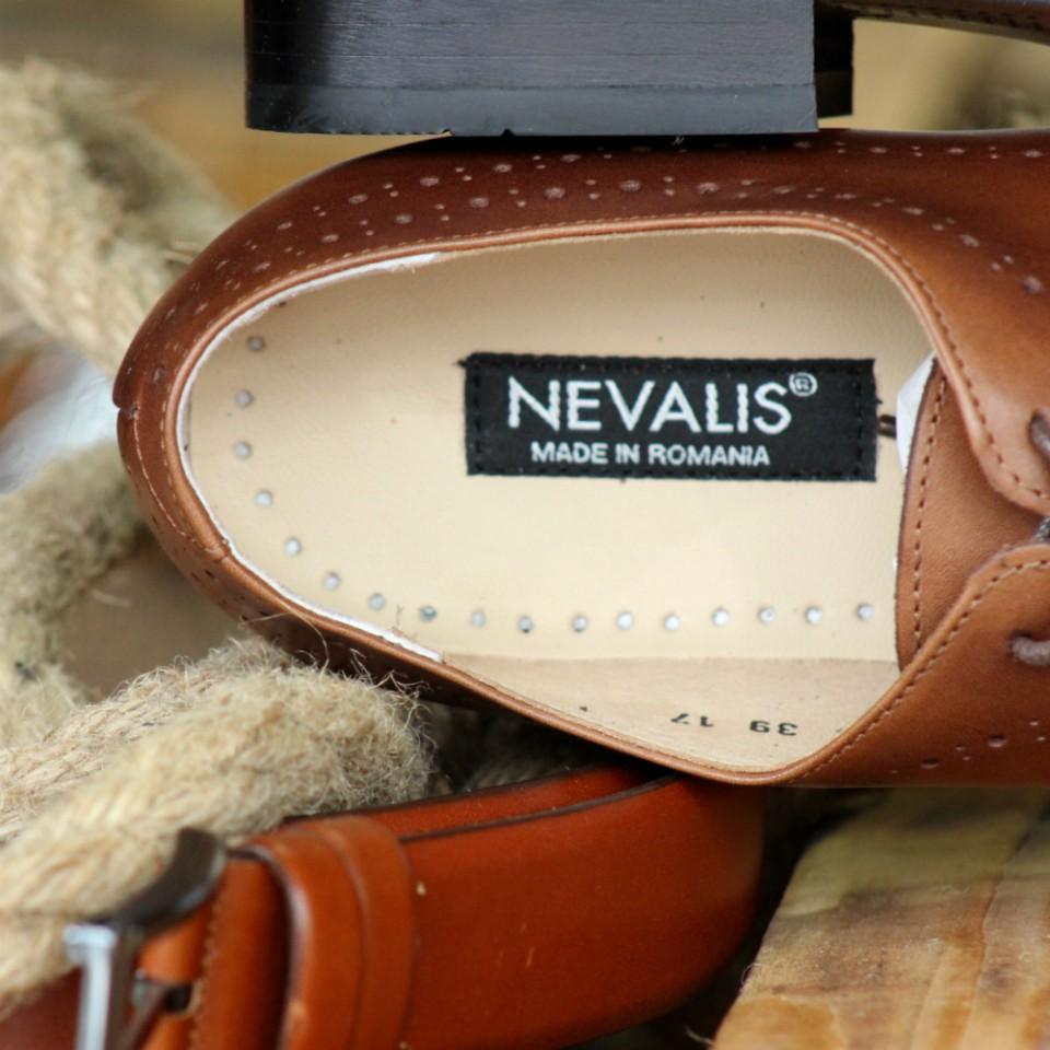 super popular New York fotografii oficiale Pantofi Barbati Maro din PIELE Naturala 100% cod: nvm05