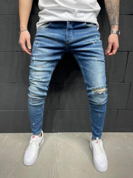 Blugi Barbati Slim-Fit MODEL 2021 COD: BG747