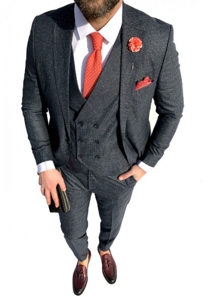 Poze Costum Office 3 Piese Model 2020 LIMITED EDITION cod: CTB435