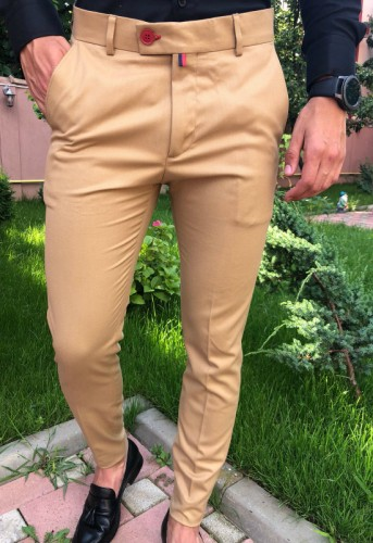 Poze Pantaloni Casual Model 2018 COD: PB198 TRANSPORT GRATUIT !!!