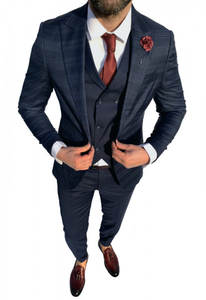 Costum Office 3 Piese Model 2020 LIMITED EDITION cod: CTB382