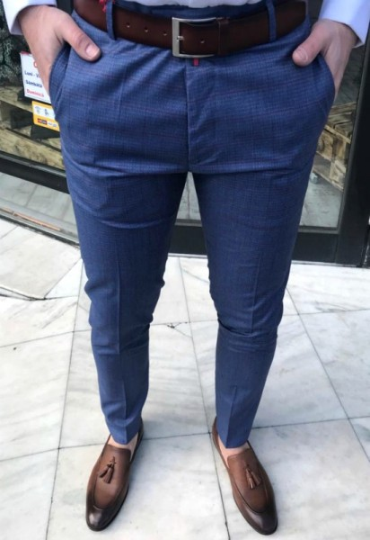Poze Pantaloni Barbati Casual Model 2019 COD: PB229 TRANSPORT GRATUIT !!!