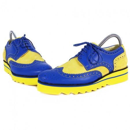 Poze Pantofi Barbati din PIELE Naturala 100% cod: MF18