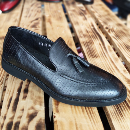 Pantofi Barbati din PIELE Naturala 100% cod: NVM39