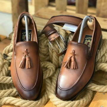 Poze Pantofi Barbati din PIELE Naturala 100% cod: TK09