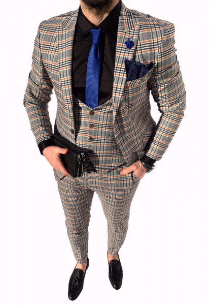 Poze Costum Office 3 Piese Model 2020 LIMITED EDITION cod: CTB426