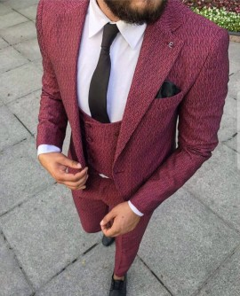 Costum Office Bordo cod: CTB122