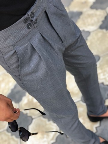 Poze Pantaloni Casual Model 2018 COD: PB215 TRANSPORT GRATUIT !!!