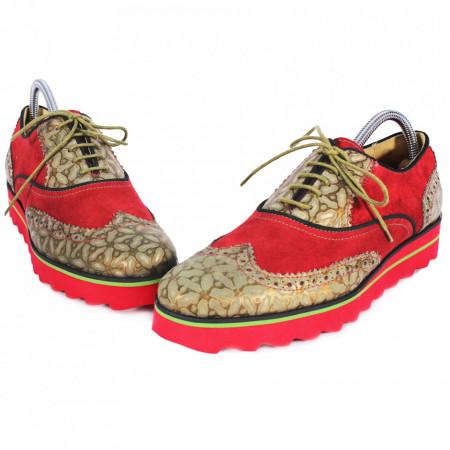 Pantofi Barbati din PIELE Naturala 100% cod: MF11