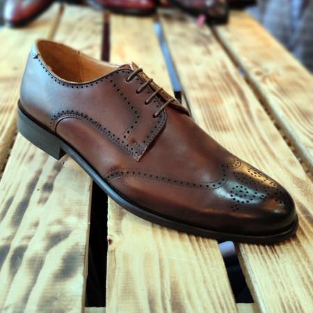 Pantofi Barbati din PIELE Naturala 100% cod: NVM36