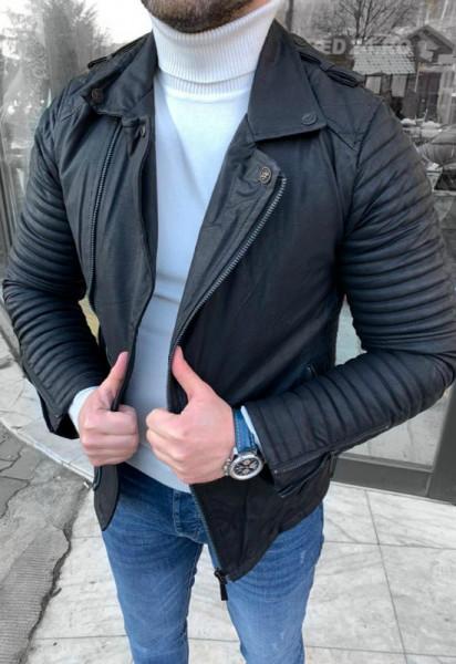 Poze Geaca barbati piele ecologica cod: GB546